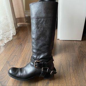 MiuMiu Leather Calzature Donna Riding Boot
